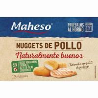 Nuggets de pollo MAHESO Receta Maestra, caja 300 g