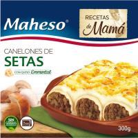 Canelones de setas MAHESO, caja 300 g