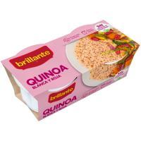 Vasito de quinoa 100% BRILLANTE, pack 2x125 g