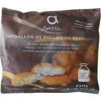Medallón de pollo con bechamel AMEZTOI, bolsa 350 g
