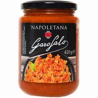 Salsa napolitana GAROFALO, frasco 420 g