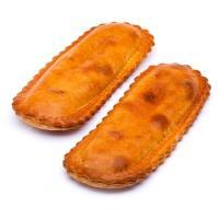 Empanada bocata de atún EROSKI, 2 unid., bandeja 260 g