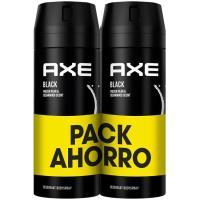 Desodorante Black AXE, pack 2x150 ml