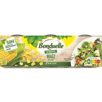 """Maíz dulce """"Un Toque de"""" BONDUELLE, pack 3x70 g"""