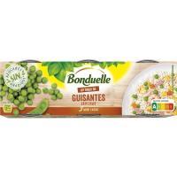 """Guisantes """"Un Toque de"""" BONDUELLE, pack 3x65 g"""