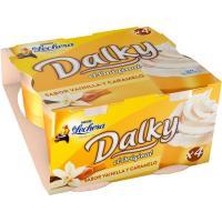 Copa de vainilla y caramelo DALKY LA LECHERA, pack 4x100 g