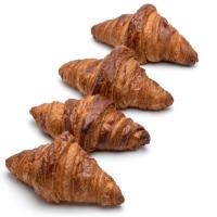Mini croissant de mantequilla EROSKI, 8+4u Gratis,  bandeja 300g