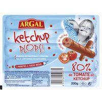 Salchicha ketchup Plops ARGAL, sobre 200 g