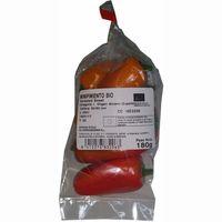 Pimiento dulce ecológico, bolsa 180 g