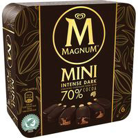 Bombón Intense Dark mini MAGNUM, 6 unid., caja 300 g