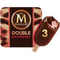 Bómbón Doble Raspberry MAGNUM, 3 unid, caja 219 g