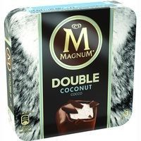 Bombón Doble coco MAGNUM, 3 unid., caja 219 g