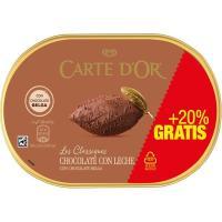 Helado de chocolate CARTE' DOR, tarrina 750 g