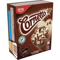 Cono Chocolatísimo CORNETTO, 4 unid., caja 240 g
