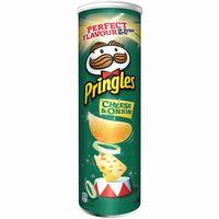 Patatas Cheese&Onion PRINGLES, tubo 190 g