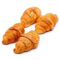 Croissant micro de mantequilla EROSKI, bandeja 8 unid.