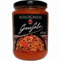 Salsa bolognese GAROFALO, frasco 420 g