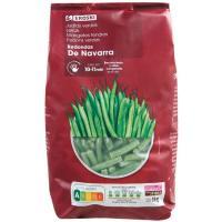 Judías verdes redondas EROSKI, bolsa 1 kg