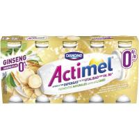 Lcasei con ginseng 0% ACTIMEL, pack 5x100 g
