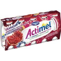 Lcasei granada-arándanos-maca ACTIMEL, pack 5x100 g