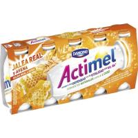 Lcasei con jalea real-avena ACTIMEL, pack 5x100 g