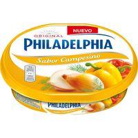 Queso de untar sabor campesino PHILADELPHIA, tarrina 150 g