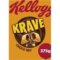 Cereales choco-avellana KRAVE, caja 375 g