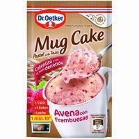 Mug Cake de avena con frambuesa DR. OETKER, sobre 64 g