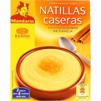 Natillas caseras MANDARÍN, estuche 85 g