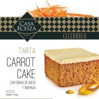 Tarta carrot cake CASA ECEIZA, caja 500 g