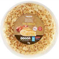Tortilla de Patatas Fresca Eroski 1kg con cebolla
