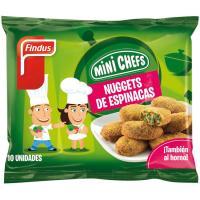 Nuggets de espinacas FINDUS, bolsa 250 g
