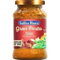 Pesto rojo GALLINA BLANCA, frasco 190 g