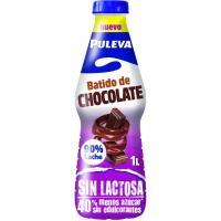 Batido de cacao sin lactosa PULEVA, botella 1 litro