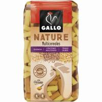Macarrones multicereales GALLO NATURE, paquete 400 g