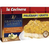 Filete de pescado con patata-romero LA COCINERA, caja 380 g
