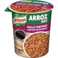 Arroz Pot de pollo teriyaki KNORR, vaso 81 g