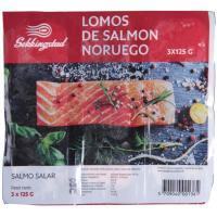 Porciones de salmón SEKKINGSTAD, caja 375 g