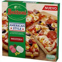 Pizza americana Style Western BUITONI, caja 430 g