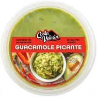 Guacamole picante COSTA VOLCÁN, tarrina 200 g