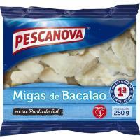 Migas de bacalao PESCANOVA, bolsa 250 g