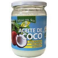 Aceite de coco ecológico HIJAS DEL SOL, 400 g