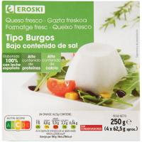 Queso fresco de Burgos sin sal