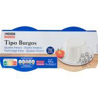 Queso de Burgos EROSKI basic, pack 2x250 g