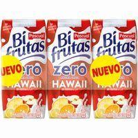 Bifrutas Zero Hawai PASCUAL, pack 3x330 ml