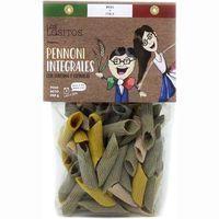 Pennoni integral c/cúrcuma y espinaca LOS LOSITOS, paquete 250 g