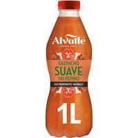 Gazpacho suave ALVALLE, botella 1 litro