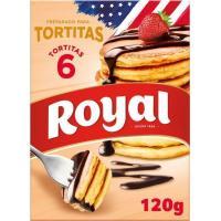 Preparado tortitas ROYAL, caja 120 g