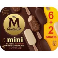 Bombón mini clásico-almendrado-blanco MAGNUN, 6 unid, caja 266 g