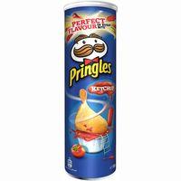 Patatas ketchup PRINGLES, tubo 190 g